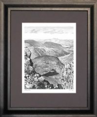 Wainwright Print - Borrowdale